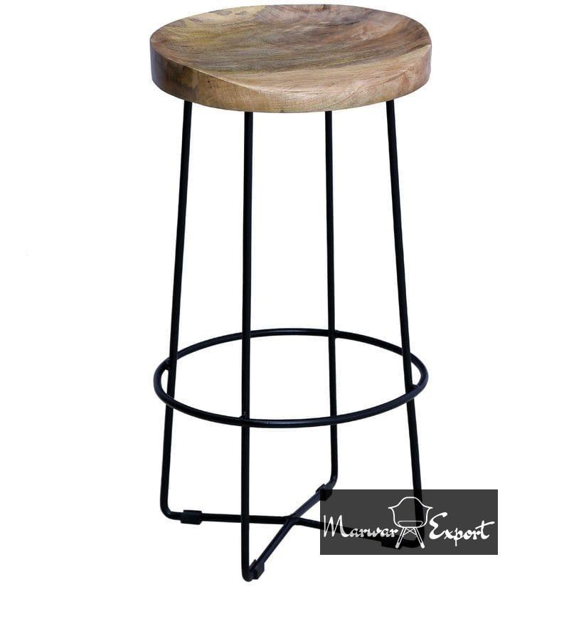 Industrial Bar Stool By Bohemiana